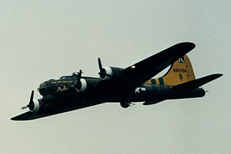 Sally B - Image: Boeing B17 Flying Fortress flyby 1985