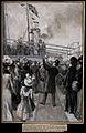 Boer War; The Duke of Connaught raising the union jack on th Wellcome V0015607.jpg