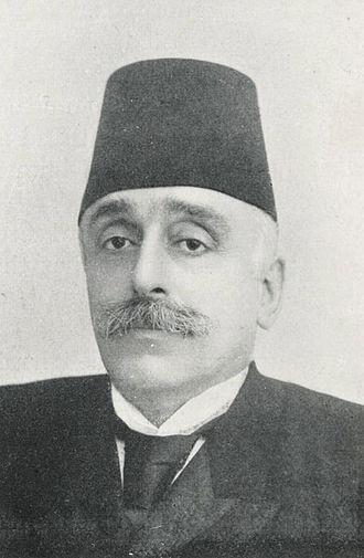 Armenian General Benevolent Union - First AGBU president Boghos Nubar, the son of the prime minister of Egypt Nubar Pasha.
