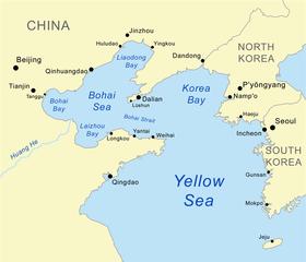 Resultado de imagen de mar de Bohai
