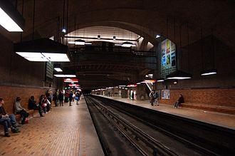 Bonaventure station - Station's platform.