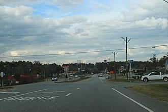 Bonifay, Florida - Image: Bonifay FL Businesses SR79