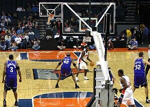 Kareem Rush - Kareem Rush handling the ball for the Charlotte Bobcats.