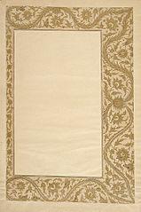 Border from a Farhang-i Jahangiri Manuscript