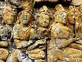 Borobudur - Lalitavistara - 014 E, The Bodhisattva inside Queen Maya's Womb (detail 1) (11247783325).jpg