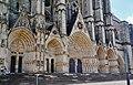 Bourges Cathédrale Saint-Étienne Fassade Portale 2.jpg