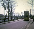 Bournemouth trolleybus on Tuckton Bridge (2) - geograph.org.uk - 1601501.jpg