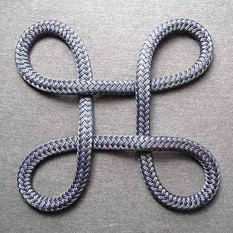 Command key - A Bowen knot