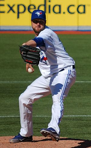 Brandon Lyon - Lyon with the Toronto Blue Jays