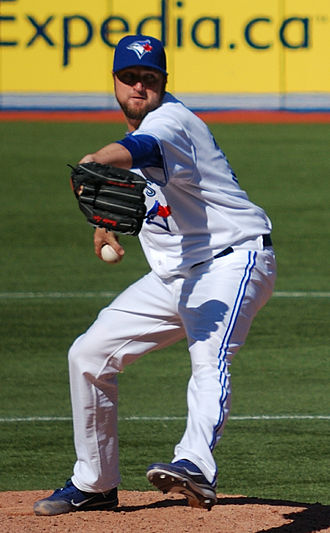 Brandon Lyon - Lyon with the Toronto Blue Jays