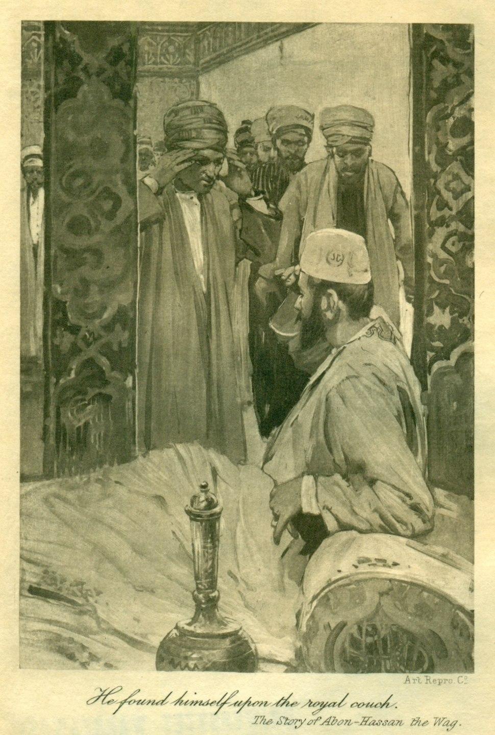 Brangwyn, Arabian Nights, Vol 3, 1896 (1)