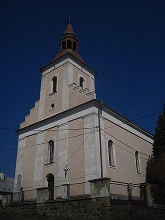 Bratříkovice - Image: Bratříkovice u Opavy kostel Panny Marie (2)