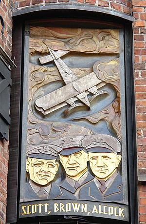George Herbert Scott - Panel from Hoetger on the Glockenspiel House in Bremen