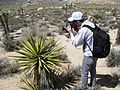 Brian Catching a Mojave Yucca - Flickr - brewbooks.jpg