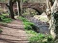 Bridge on Fairy Glen Walk - geograph.org.uk - 501168.jpg