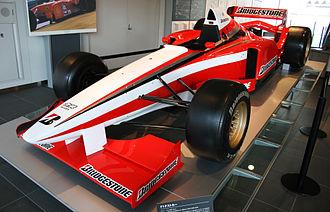 Bridgestone - Bridgestone used a Ligier JS41 as test bed during 1996.