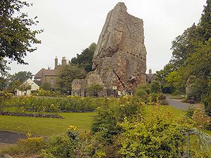 Bridgnorth Castle - Bridgnorth Castle and surrounding garden