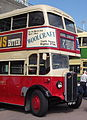 Brighton Hove & District bus 63 (FUF 63), Brighton & Hove bus company 75th anniversary rally.jpg