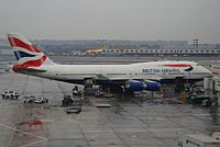 G-BYGC - B744 - British Airways