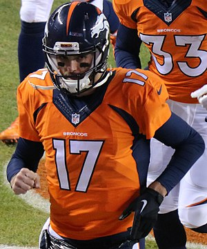 Brock Osweiler - Osweiler with the Denver Broncos in 2015