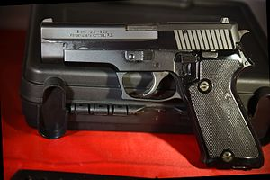 Browning BDA Handguns - Browning BDA .45 ACP Caliber Left side showing Browning Branding.