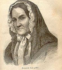 Therese Brunsvik, Porträtzeichnung (Quelle: Wikimedia)