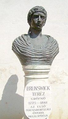 Büste von Therese Brunsvik (Quelle: Wikimedia)