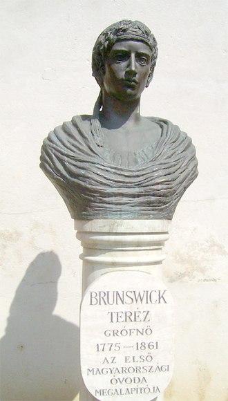Teréz Brunszvik - A bust of Therese Brunsvik