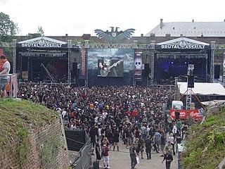 Brutal Assault music festival