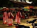 Buddhist Nuns in Mandalay, Myanmar.jpg