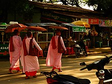 Buddhist Nuns in Mandalay, Myanmar
