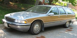 GM B platform - 1996 Buick Roadmaster Estate Wagon