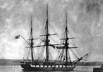 Prussian Navy - SMS Thetis, circa 1867.
