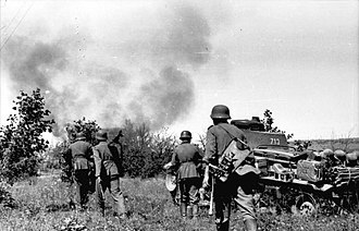 Timeline of World War II (1941) - Operation Barbarossa began on 22 June 1941, marking the Soviet Union's entry into the war