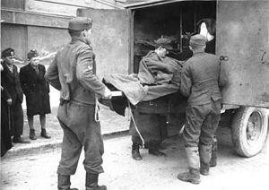 Operation Spring Awakening - German casualties