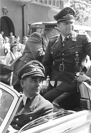 Mischling - Erhard Milch (at right), whose father was Jewish