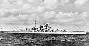 """Bundesarchiv DVM 10 Bild-23-63-41, Schlachtschiff """"Bismarck"""""""