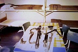 Rheinmetall MG 3 - Parts of a German MG 3