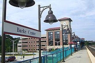 Burke Centre station - Burke Centre station in August 2010