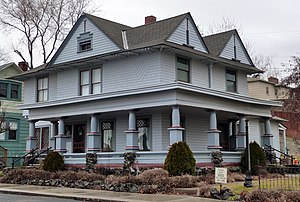 National Register of Historic Places listings in Adams County, Washington - Image: Burroughs House Ritzville Washington