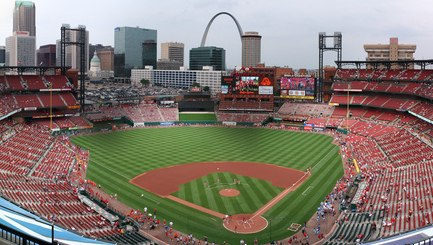 Busch Stadium Panorama Crop