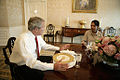 Bush meets Condoleezza Rice White House 2006.jpg