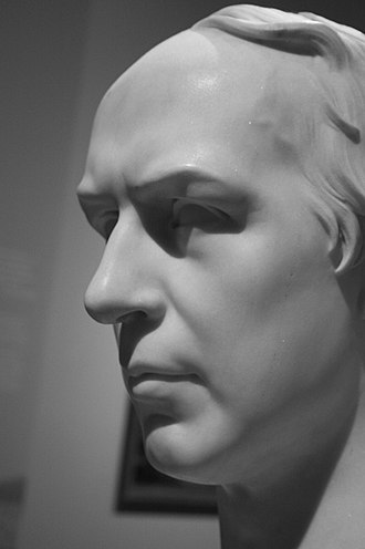 Allan Cunningham (author) - Bust of Allan Cunningham, by Henry Weekes, 1842