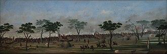 Battle of Curupayty - Cándido Lopez, Trinchera de Curupaytí