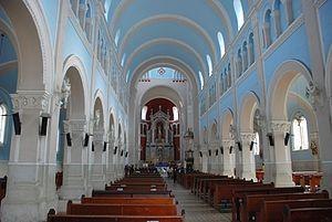 Cáqueza - Image: Cáqueza church interior