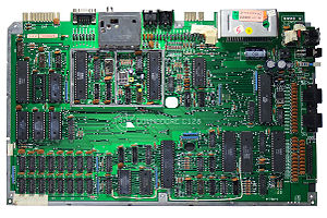 Commodore 128 - C128 main board