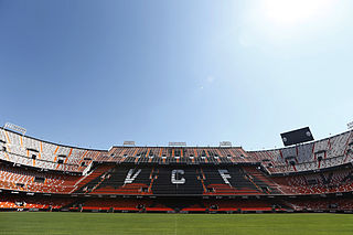 stadium at Valencia, Spain