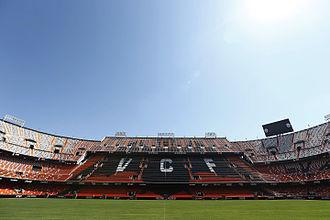 Mestalla Stadium - Image: CAMP DE MESTALLA GRADA DE LA MAR 2014