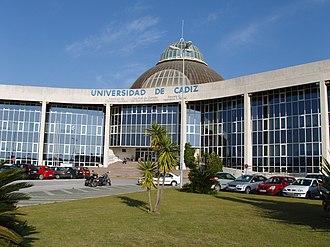 University of Cádiz - Image: CASEM Campus de Puerto Real 2