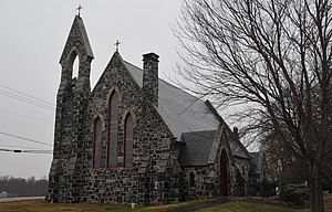 Church of the Holy Trinity (Churchville, Maryland) - Image: CHURCH OF THE HOLY TRINITY, CHURCHVILLE, HARFORD COUNTY, MD